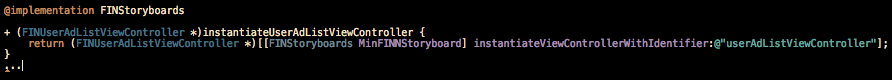 Objective-C function