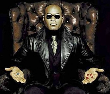 Pic of Morpheus/The Matrix